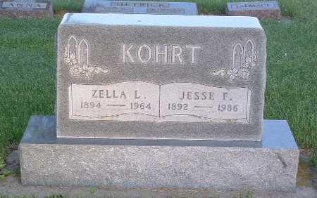 KOHRT, ZELLA L. - Lyon County, Iowa | ZELLA L. KOHRT