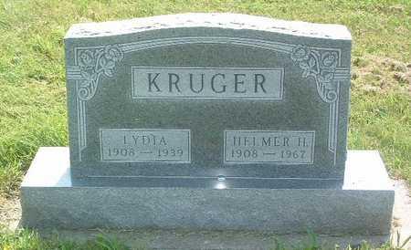 KRUGER, LYDIA - Lyon County, Iowa | LYDIA KRUGER