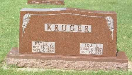 KRUGER, PETER J. - Lyon County, Iowa | PETER J. KRUGER