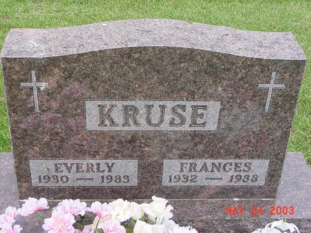 KRUSE, FRANCES - Lyon County, Iowa | FRANCES KRUSE