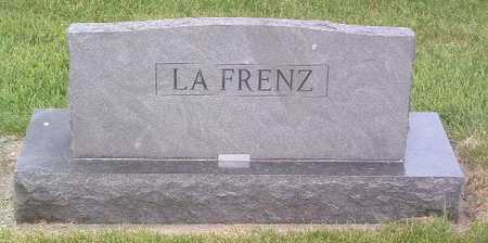 LAFRENZE, FAMILY HEADSTONE - Lyon County, Iowa | FAMILY HEADSTONE LAFRENZE