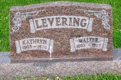 LEVERING, WALTER - Lyon County, Iowa | WALTER LEVERING