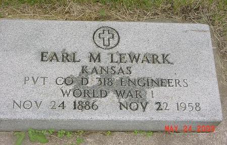 LEWARK, EARL - Lyon County, Iowa | EARL LEWARK