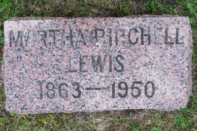 LEWIS, MARTHA - Lyon County, Iowa | MARTHA LEWIS