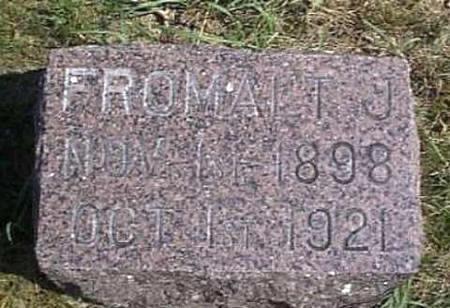 LONG, FROMALT JOHANSON - Lyon County, Iowa | FROMALT JOHANSON LONG