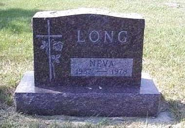 MEYER LONG, NEVA JEAN - Lyon County, Iowa | NEVA JEAN MEYER LONG