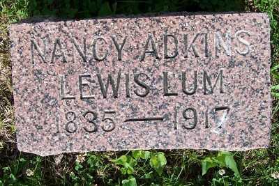 LUM, NANCY ADKINS - Lyon County, Iowa | NANCY ADKINS LUM