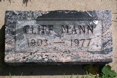 MANN, CLIFF - Lyon County, Iowa | CLIFF MANN
