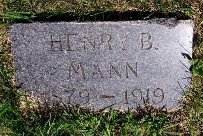 MANN, HENRY B, - Lyon County, Iowa | HENRY B, MANN