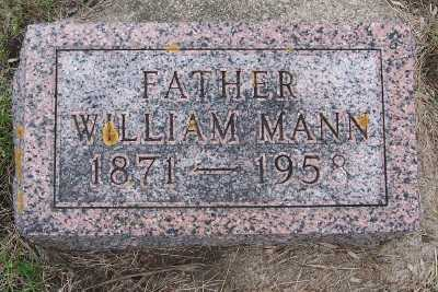 MANN, WILLIAM - Lyon County, Iowa | WILLIAM MANN