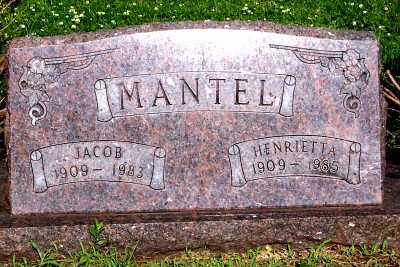 MANTEL, JACOB - Lyon County, Iowa | JACOB MANTEL