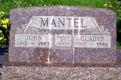 MANTEL, GLADYS - Lyon County, Iowa | GLADYS MANTEL