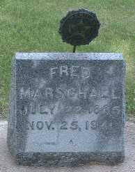 MARSCHALL, FRED - Lyon County, Iowa | FRED MARSCHALL