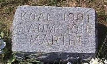 MARTIN, NAOMI K. - Lyon County, Iowa | NAOMI K. MARTIN