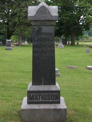 MATHISON, EDWARD - Lyon County, Iowa | EDWARD MATHISON