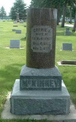 MCKINNEY, CARRIE J. - Lyon County, Iowa | CARRIE J. MCKINNEY