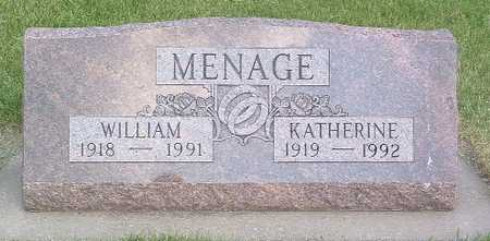 MENAGE, KATHERINE - Lyon County, Iowa | KATHERINE MENAGE