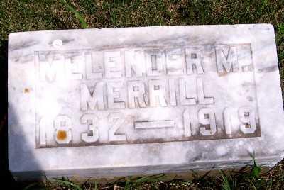 MERRILL, MELENDER M. - Lyon County, Iowa | MELENDER M. MERRILL
