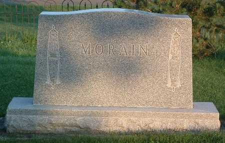MORAIN, HEADSTONE - Lyon County, Iowa | HEADSTONE MORAIN
