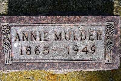 MULDER, ANNIE - Lyon County, Iowa | ANNIE MULDER