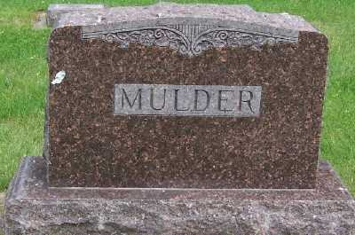 MULDER, FAMILY HEADSTONE - Lyon County, Iowa | FAMILY HEADSTONE MULDER