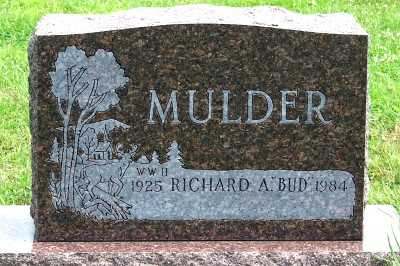 MULDER, RICHARD A. (BUD) - Lyon County, Iowa | RICHARD A. (BUD) MULDER