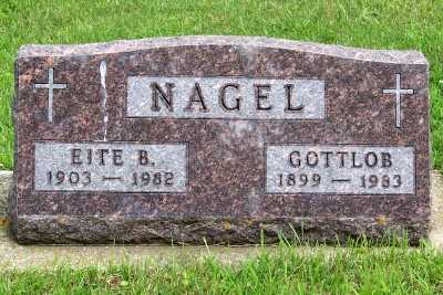 NAGEL, GOTTOB - Lyon County, Iowa | GOTTOB NAGEL