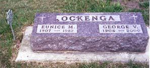OCKENGA, EUNICE M - Lyon County, Iowa | EUNICE M OCKENGA