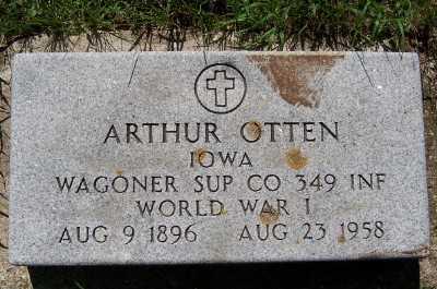 OTTEN, ARTHUR - Lyon County, Iowa | ARTHUR OTTEN