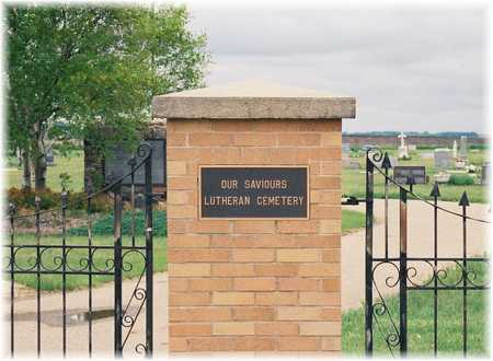 OUR SAVIOUR LUTHERAN, CEMETERY - Lyon County, Iowa | CEMETERY OUR SAVIOUR LUTHERAN