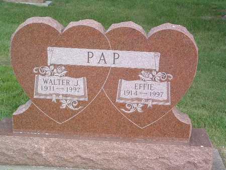 PAP, EFFIE - Lyon County, Iowa | EFFIE PAP