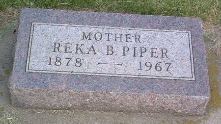 PIPER, REKA B. - Lyon County, Iowa | REKA B. PIPER