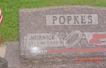 POPKES, MURNICE - Lyon County, Iowa | MURNICE POPKES