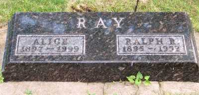 RAY, RALPH R. - Lyon County, Iowa | RALPH R. RAY