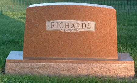 RICHARDS, FAMILY HEADSTONE - Lyon County, Iowa | FAMILY HEADSTONE RICHARDS