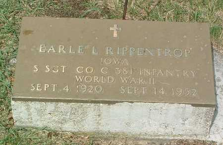 RIPPENTROP, EARLE L. - Lyon County, Iowa | EARLE L. RIPPENTROP