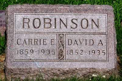 ROBINSON, DAVID A. - Lyon County, Iowa | DAVID A. ROBINSON