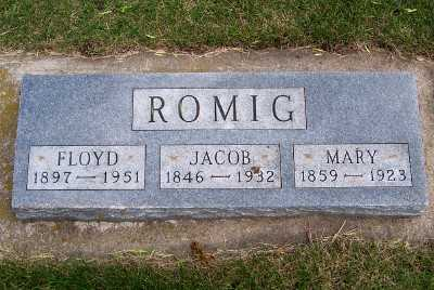 ROMIG, JACOB - Lyon County, Iowa | JACOB ROMIG