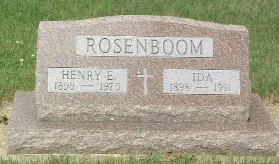 ROSENBOOM, HENRY E. - Lyon County, Iowa | HENRY E. ROSENBOOM