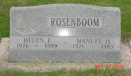 ROSENBOOM, HELEN - Lyon County, Iowa | HELEN ROSENBOOM