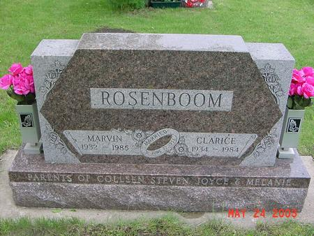 ROSENBOOM, CLARICE - Lyon County, Iowa | CLARICE ROSENBOOM