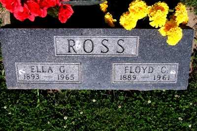 ROSS, ELLA G. - Lyon County, Iowa | ELLA G. ROSS