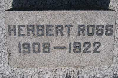 ROSS, HERBERT - Lyon County, Iowa | HERBERT ROSS
