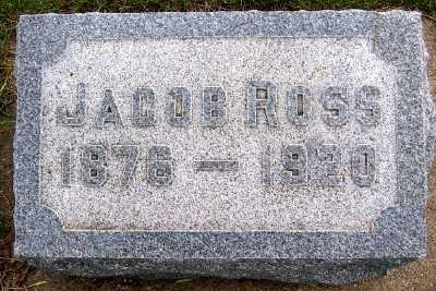 ROSS, JACOB (1876-1920) - Lyon County, Iowa | JACOB (1876-1920) ROSS