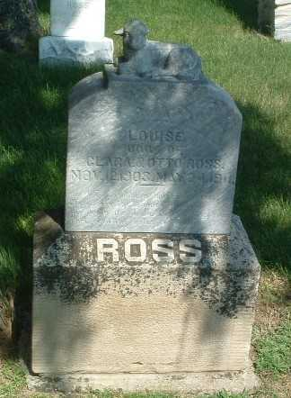 ROSS, LOUISE - Lyon County, Iowa | LOUISE ROSS