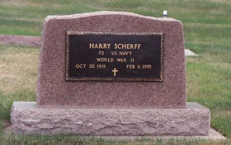 SCHERFF, HARRY - Lyon County, Iowa | HARRY SCHERFF