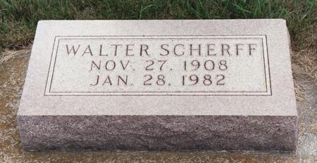 SCHERFF, WALTER - Lyon County, Iowa | WALTER SCHERFF