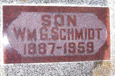 SCHMIDT, WM. G. - Lyon County, Iowa | WM. G. SCHMIDT