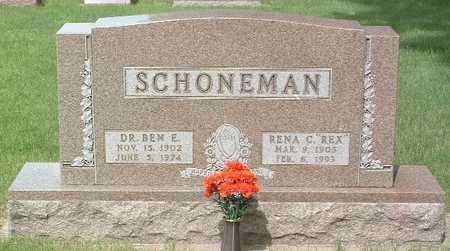 SCHOENEMAN, RENA C. - Lyon County, Iowa | RENA C. SCHOENEMAN