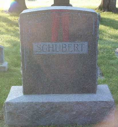 SCHUBERT, FAMILY HEADSTONE - Lyon County, Iowa | FAMILY HEADSTONE SCHUBERT